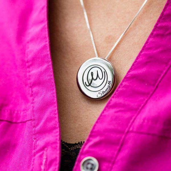 Circle Of Life Pendant With Token Sharing Solace